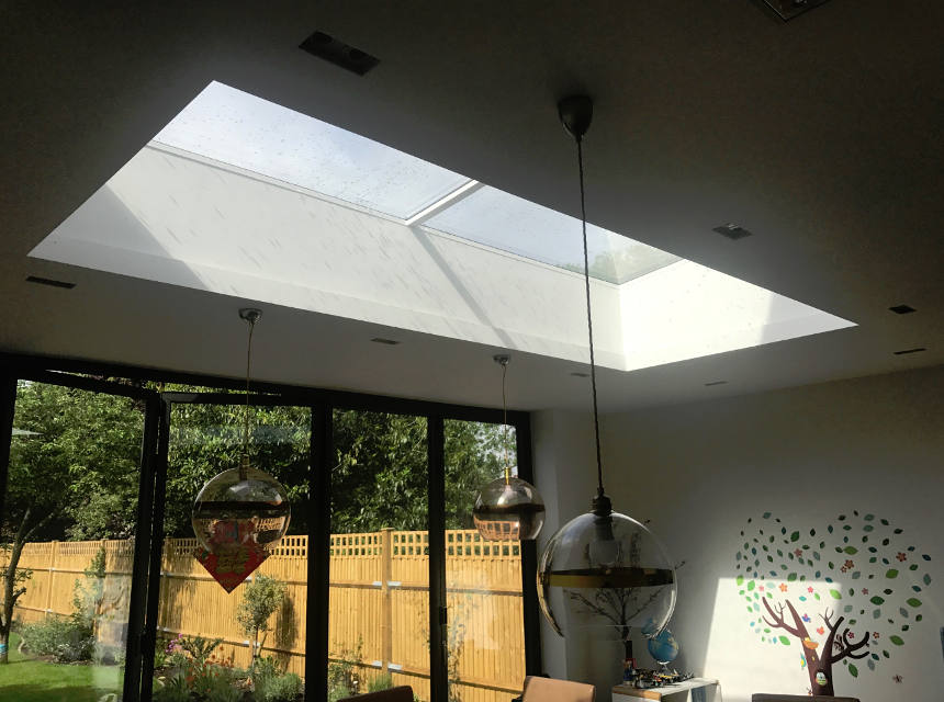 Dulwich Village - Skylight roof lantern blind installation - Case Study Image