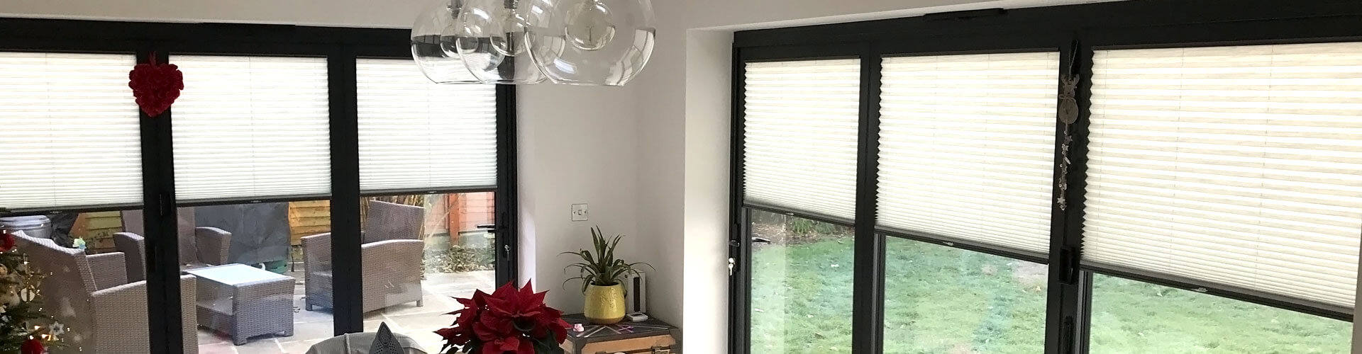 Bifold Door Blinds - Hero Image