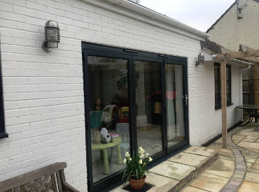 Bi-fold Doors - Mannings Heath, Horsham - Case study image