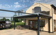 Collingham Case Study - Domestic awning