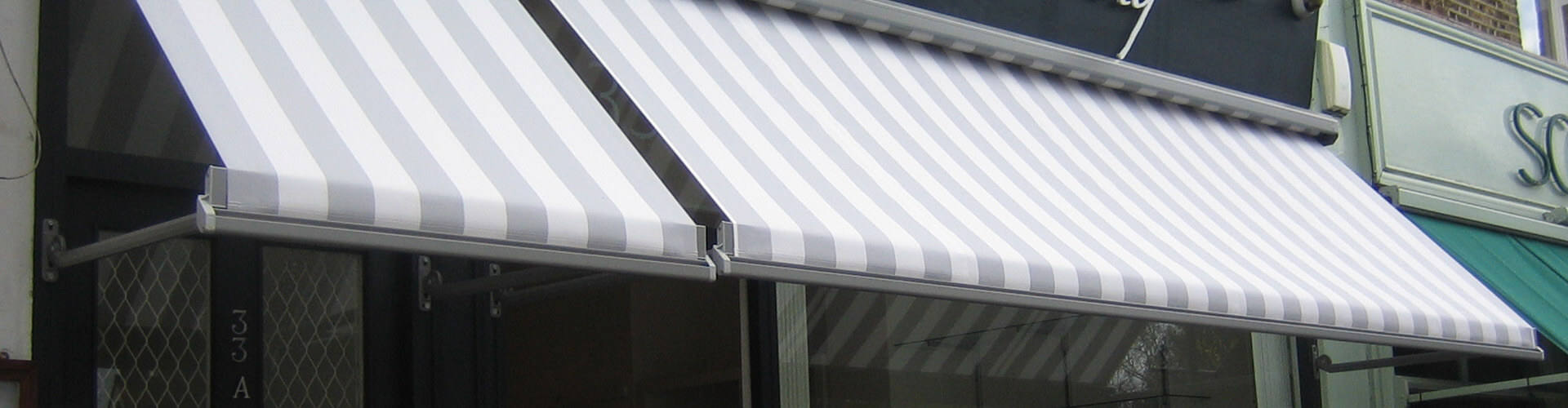 Commercial Awnings - Hero Image