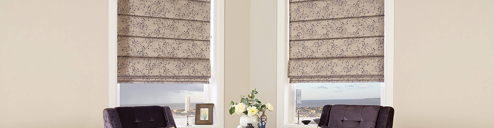 Domestic Roman Blinds - Hero Image