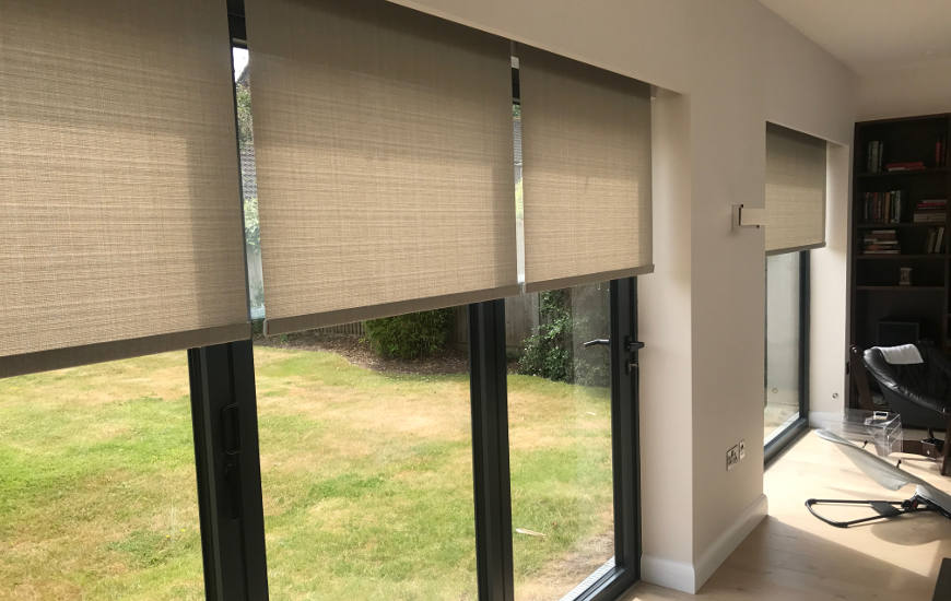 Electric Blinds for Windows Doors UK Automated Blinds Supplier