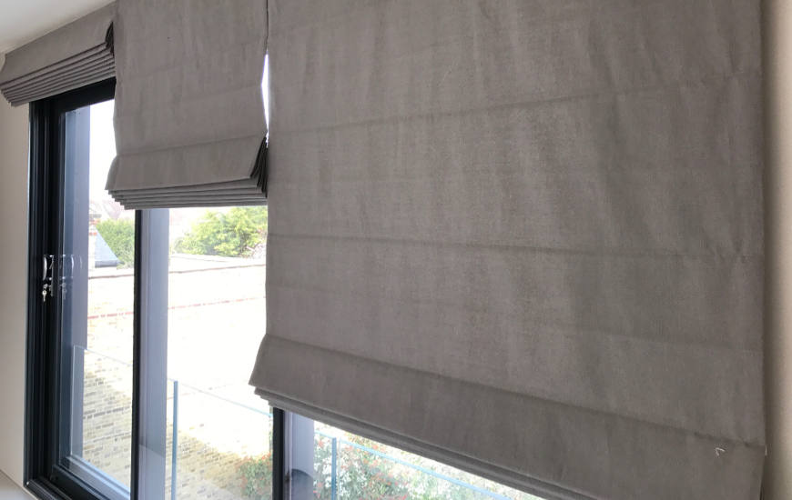 Electric Roman Blinds Featured Image