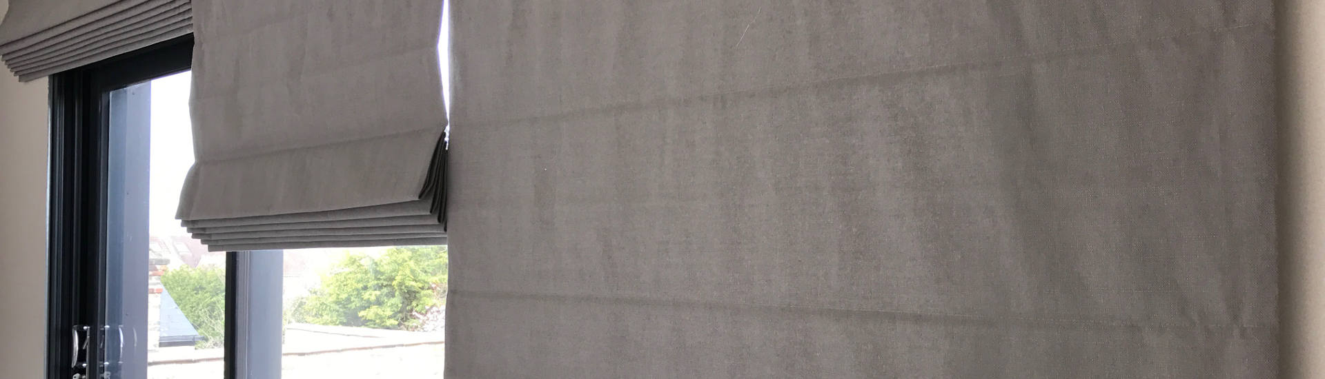 Electric Roman Blinds Header Image