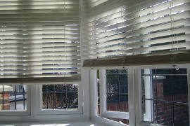 Electric Wood Venetian Blinds Featured image