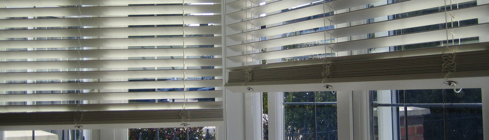 Electric Wood Venetian Blinds Header Image