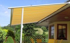 Mlk Yellow and Orange Stripe Pergola Gallery