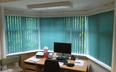 Blinds for hospitals and healthcare services including offices and other rooms