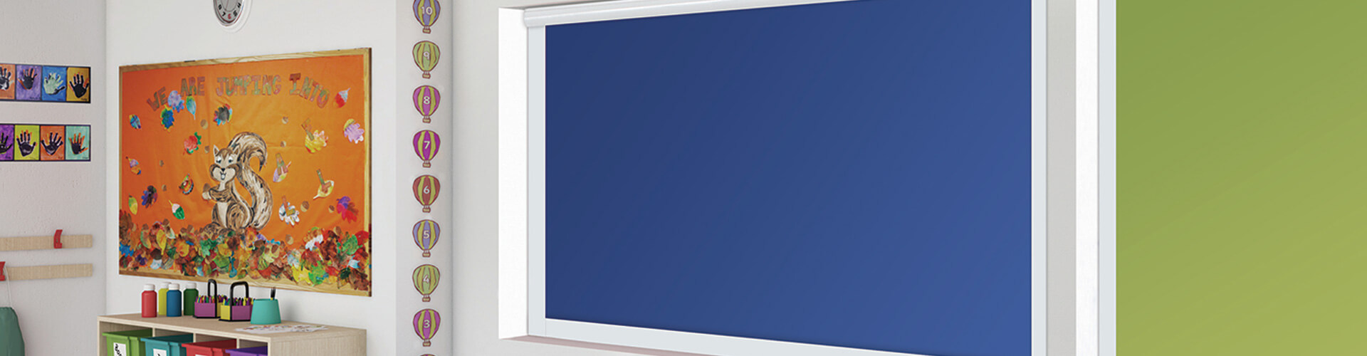 Commercial blackout blinds - blinds for classrooms