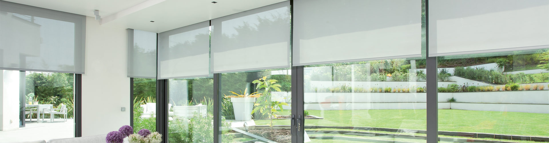 Commercial Electric Blinds