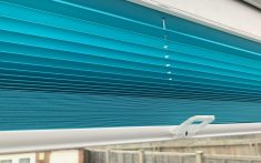 Commercial Pleated Blinds