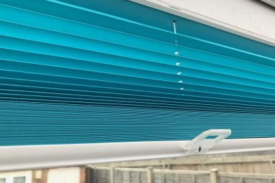 Commercial Pleated Blinds - Available in different colours