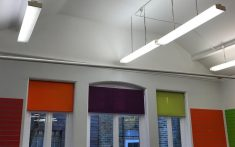 Commercial Roller Blinds - Available in a range of colours