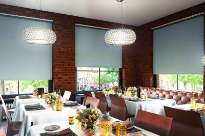 Commercial Roller Blinds for restaurants