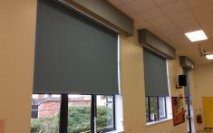 Commercial Roller Blinds and blackout blinds