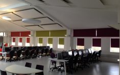 Commercial Roller Blinds for classrooms