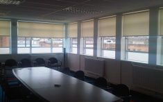 Commercial Roller Blinds for boardrooms and meeting rooms