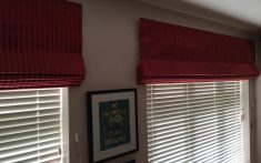 Commercial Roman Blinds