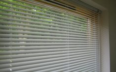 Commercial Aluminium Venetian Blinds - Close up image