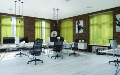 Commercial Vertical Blinds for office spaces