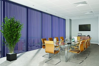 Commercial Vertical Blinds for offices