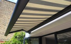 Domestic Awnings close up