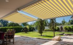Domestic Awnings - Available in a range of colours and designs