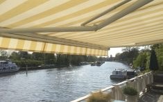 Domestic Awnings for deck areas and more