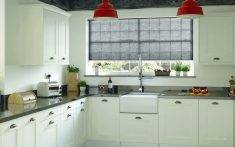 Domestic Duette Blinds for kitchens