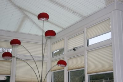 Domestic Pleated Blinds for conservatories and more