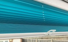 Domestic Pleated Blinds available in a range of styles and colours