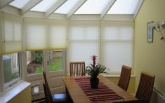 Domestic Pleated Blinds for conservatories