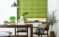 Domestic Roman Blinds available in a range of styles and colours