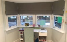Domestic Roman Blinds for studies and more