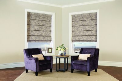 Domestic Roman Blinds for your living room