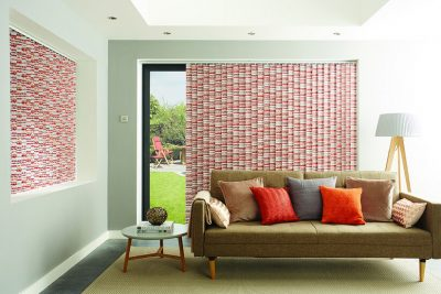 Domestic Vertical Blinds available in a range of styles, colours and designs