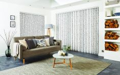 Domestic Vertical Blinds for living rooms