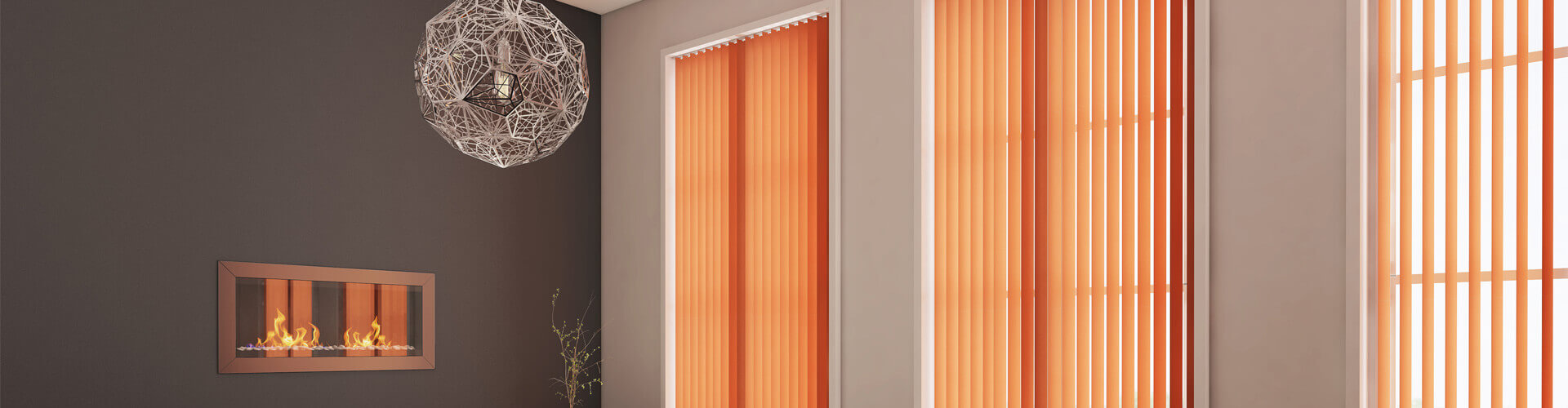 Domestic Vertical Blinds - Hero Image