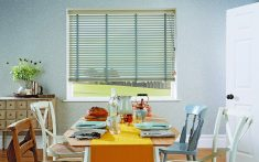 Domestic Wood Venetian Blinds for kitchens and other rooms
