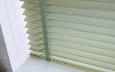 Domestic Wood Venetian Blinds - Close up image