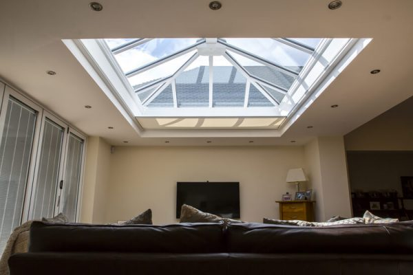 Skylight Blinds & Roof Lantern Blinds for your living room