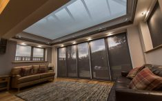Skylight Blinds & Roof Lantern Blinds for living room spaces